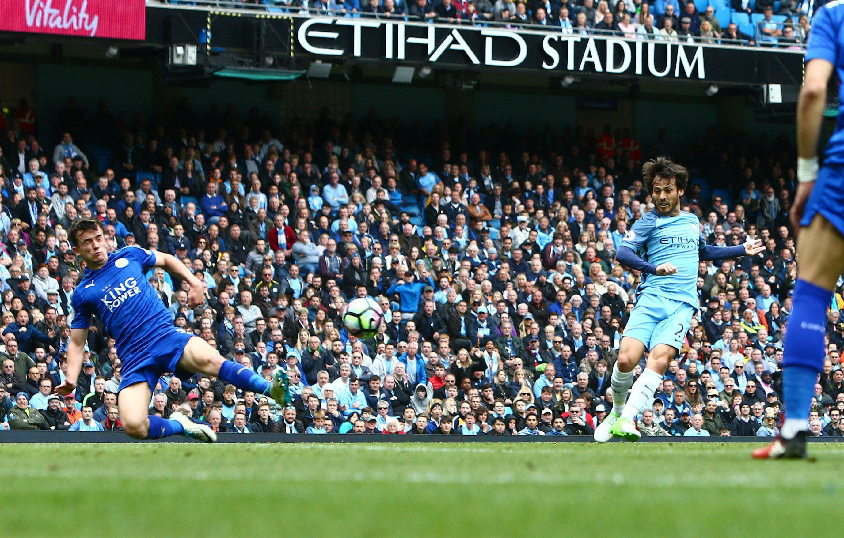 David Silva opens the scoring with controversial opener for Manchester City