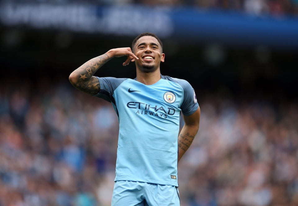 Gabriel Jesus scored the decisive goal for Manchester City against Leicester