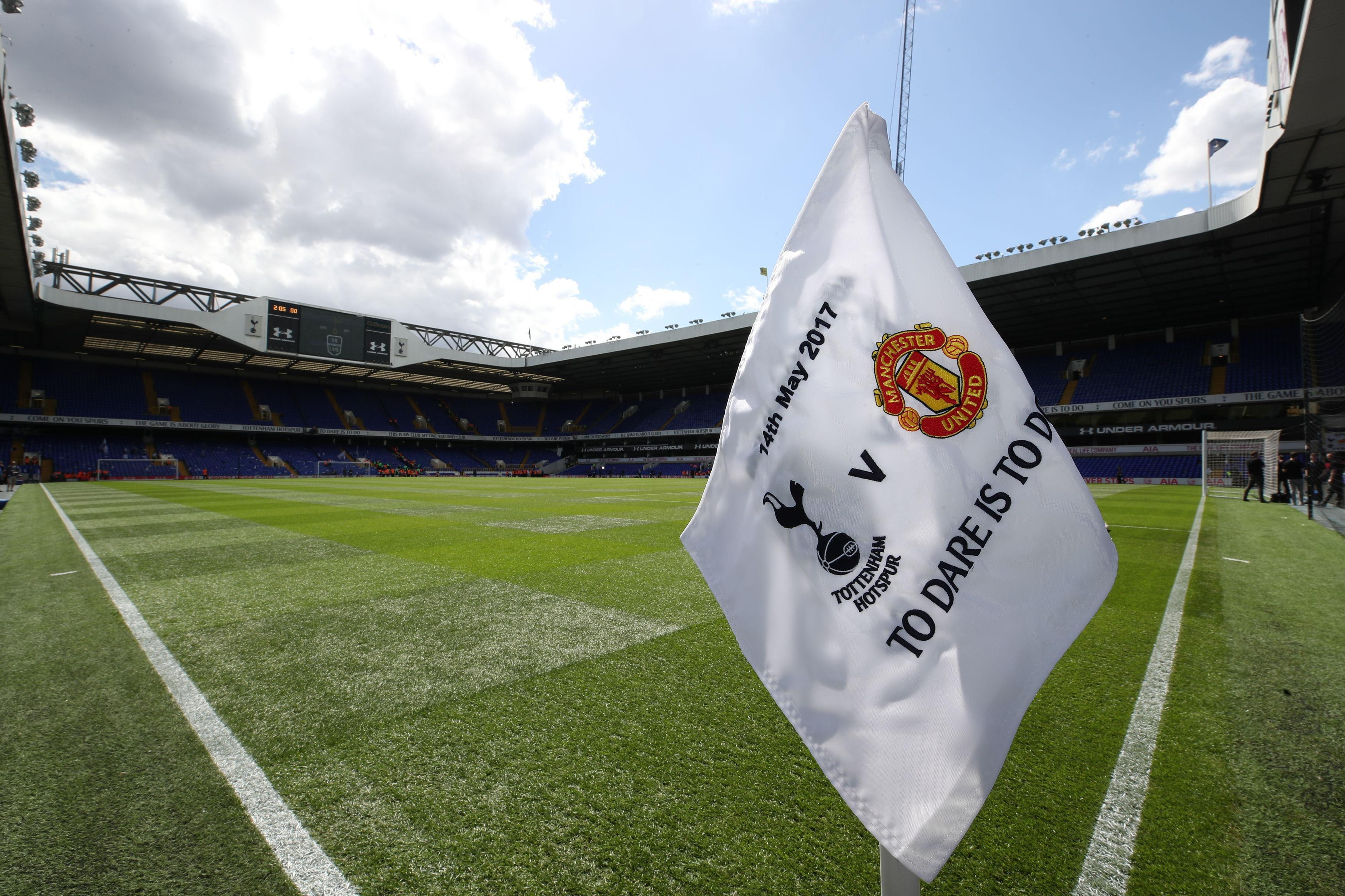 13c13569b5a Tottenham bid an emotional farewell to White Hart Lane against Manchester  United earlier this year