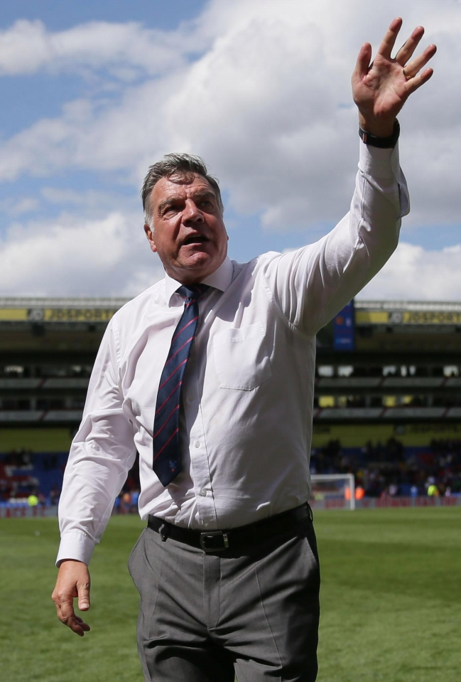 Big Sam now has more time to focus on pints of wine