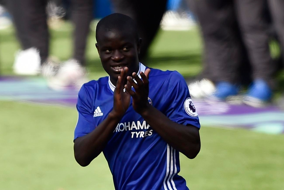 Kante is known to play 10 5-a-side matches in a row