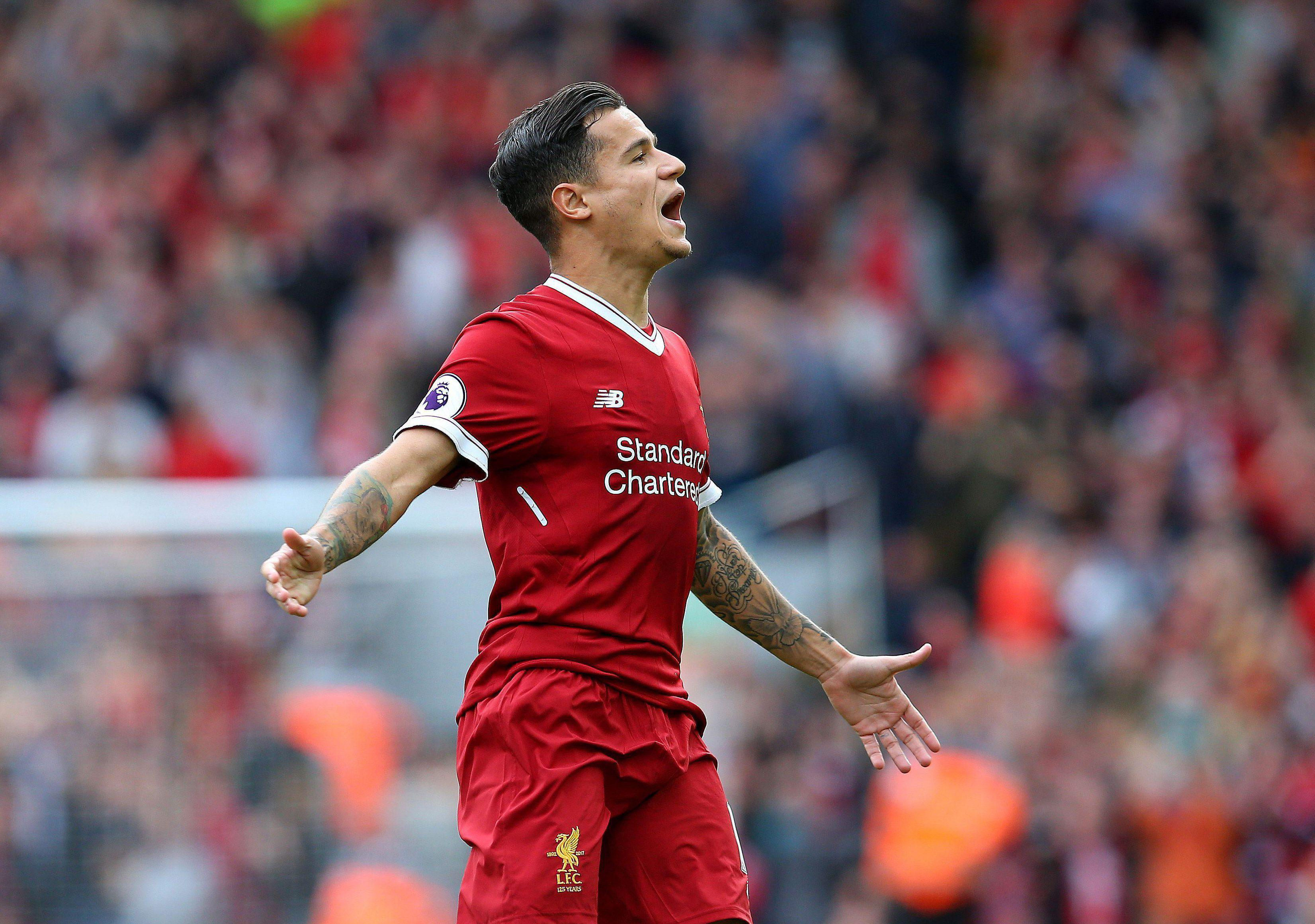 Philippe Coutinho scored 14 goals this season in his best return