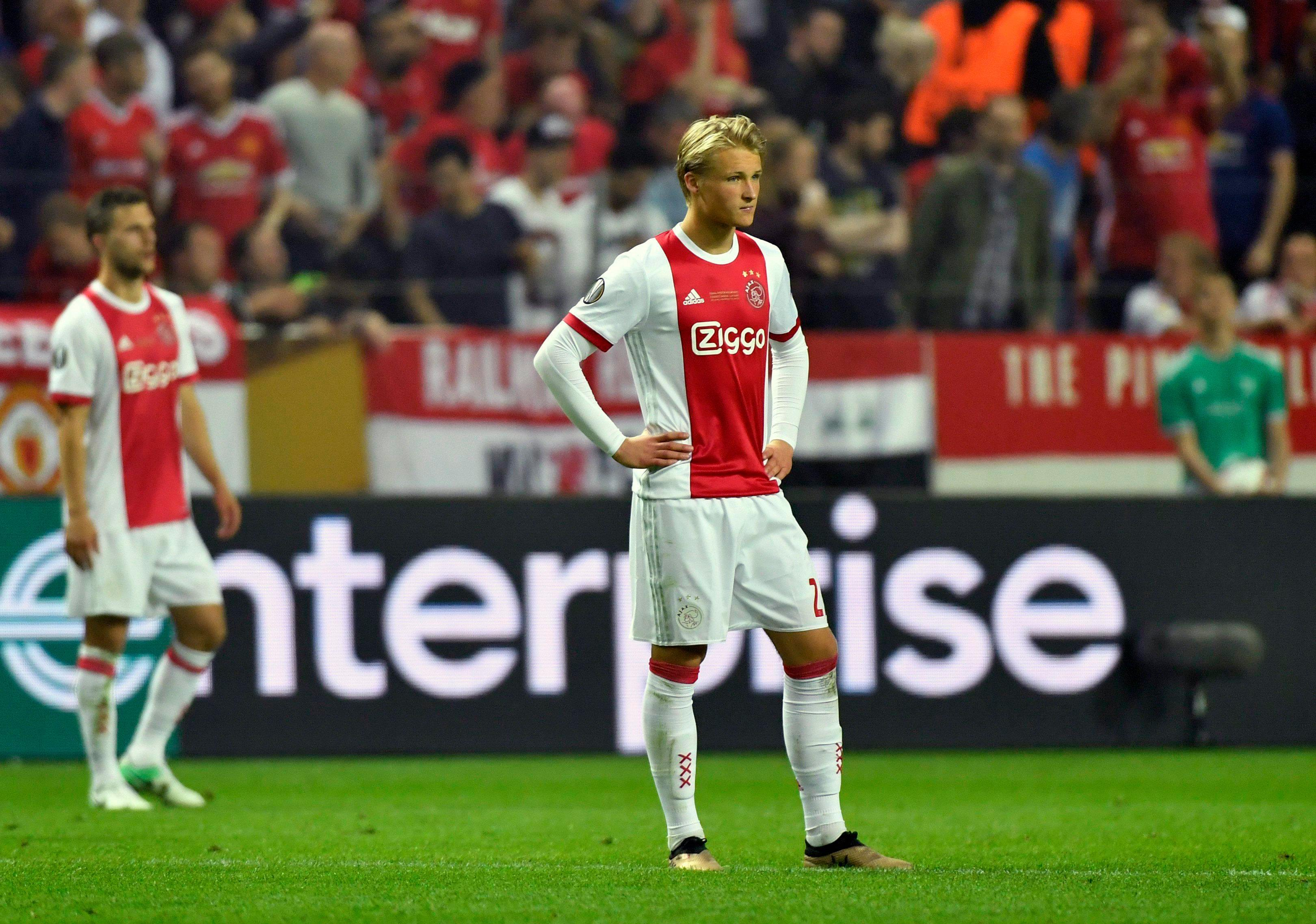 Dolberg lost out in the Europa League final