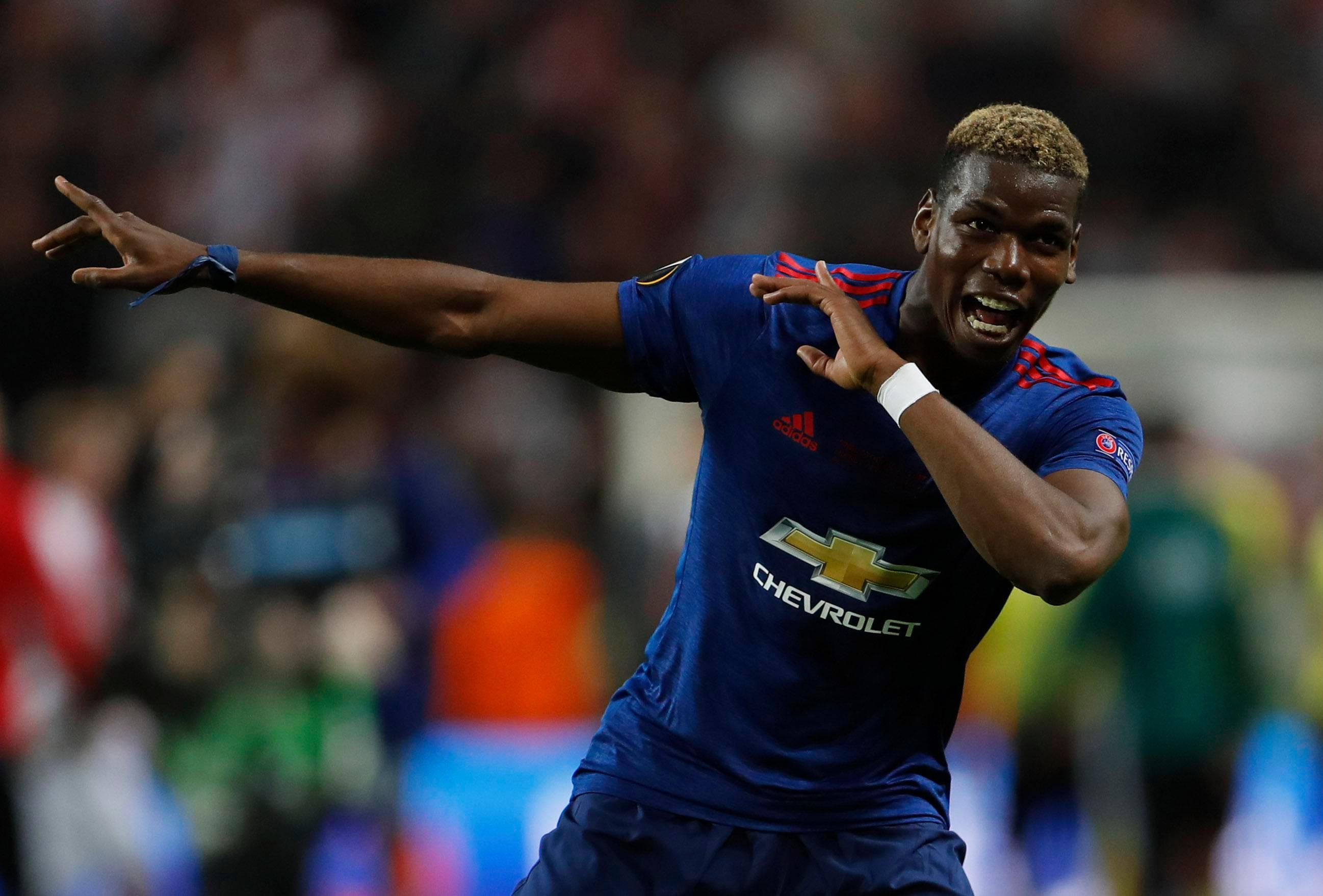 Paul Pogba celebrated victory in true fashion as he produced his infamous Dab dance