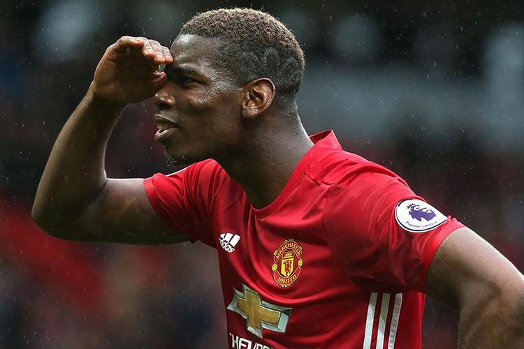 Pogba looking for his next emoji
