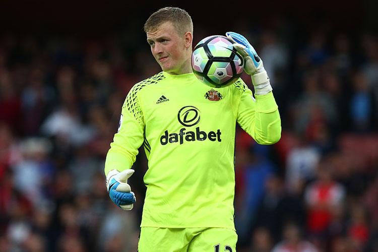 With that boyish face, it's easy to mistake Jordan Pickford for a much younger man