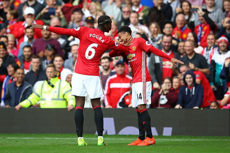 Pogba adopted Jesse Lingard as his favourite dance partner