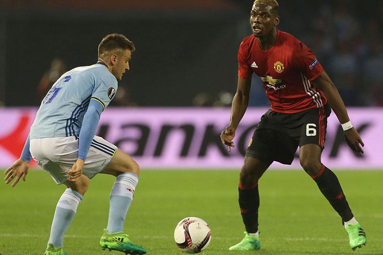 Celta Vigo's midfield couldn't cope with Pogba's performance