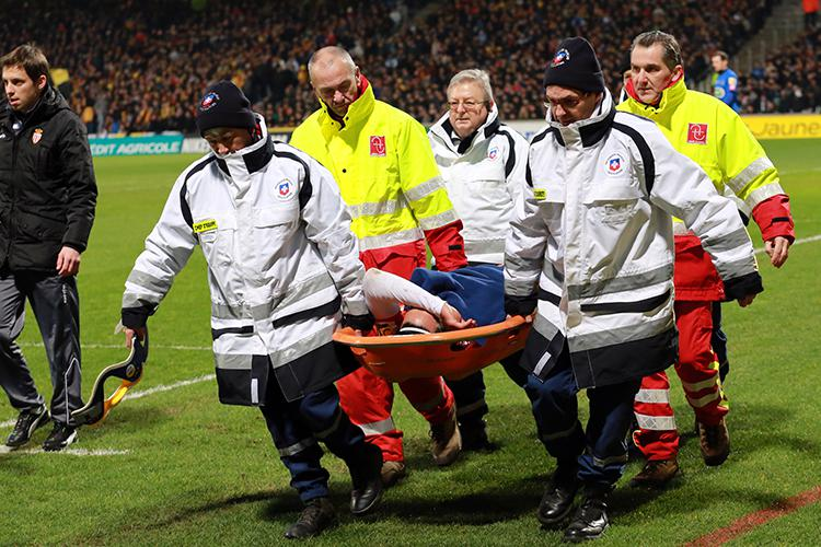 Falcao's career was put in jeopardy after an injury against Chasselay