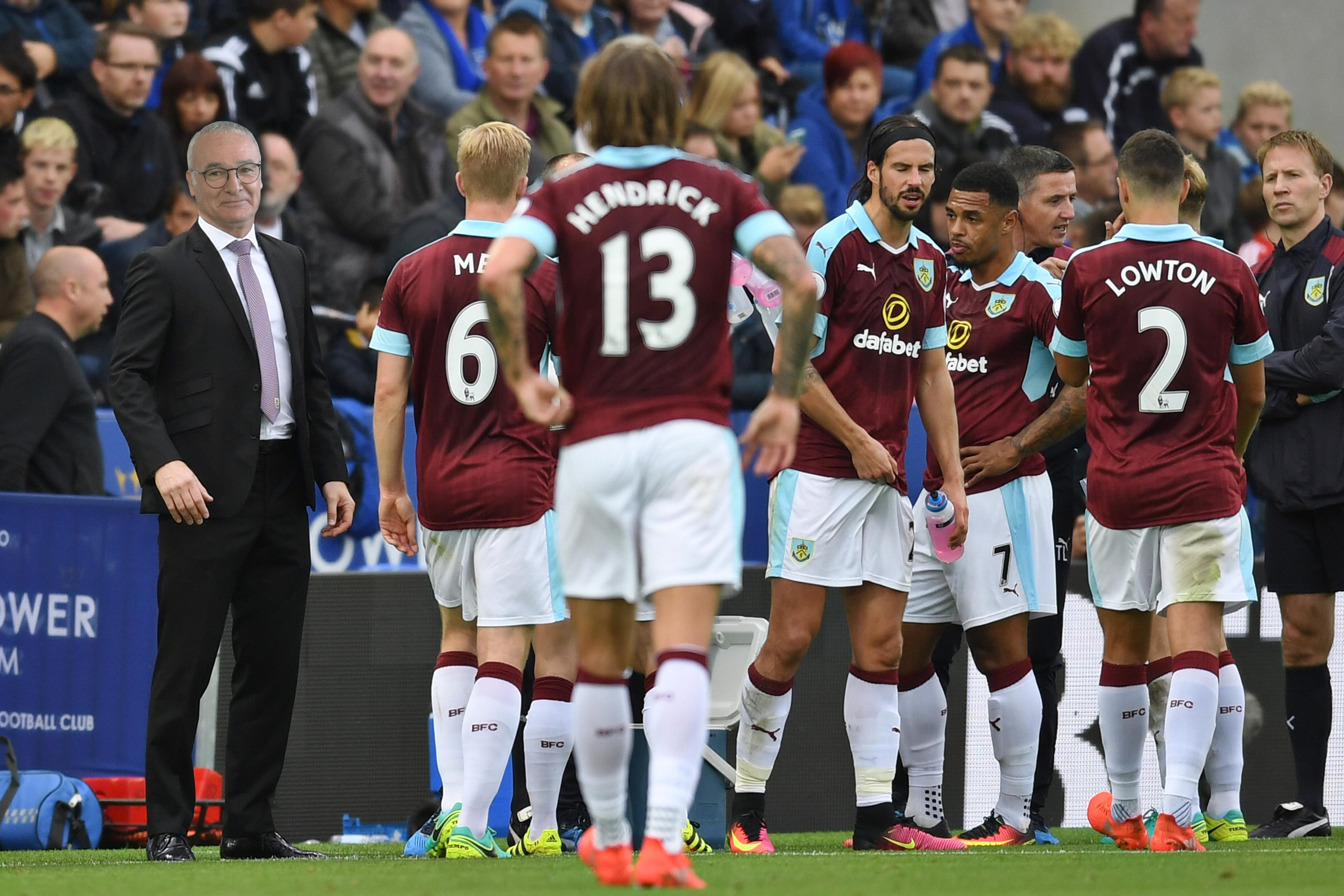 The scenes moments before Ashley Barnes breaks Jamie Vardy's consecutive goal record