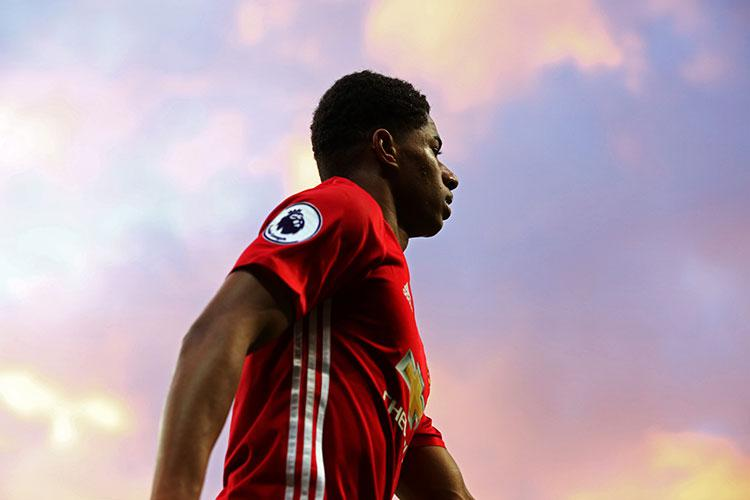 The majestic Marcus Rashford