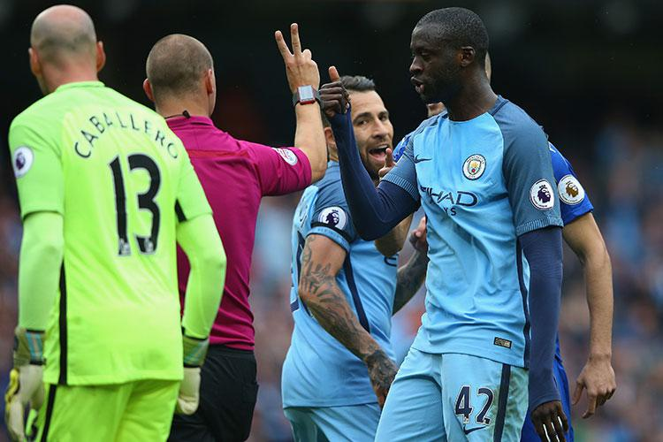 """Nice one mate"" says birthday-boy Yaya Toure"