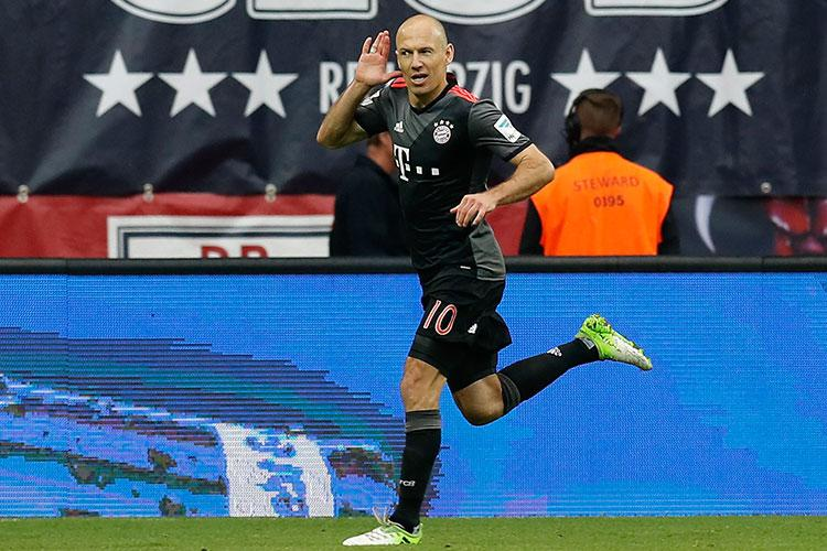 Robben struck the winner on the fifth minute of stoppage-time