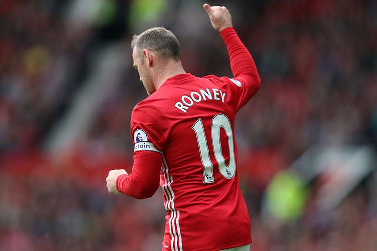 There's no place for captain Wayne Rooney