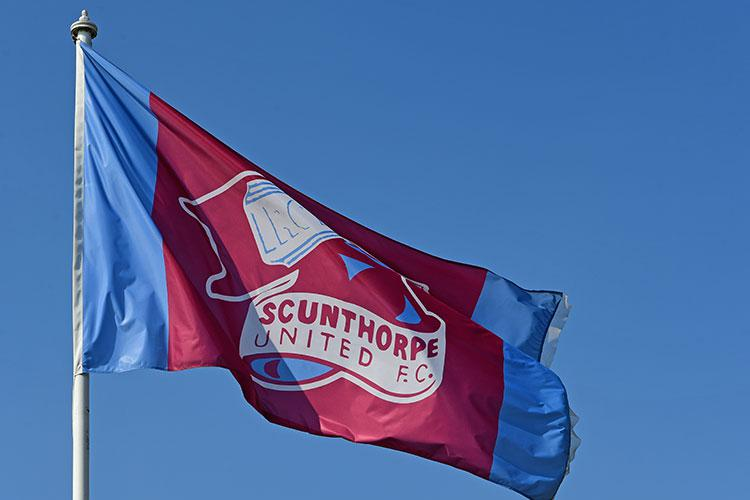 The Iron flying the flag