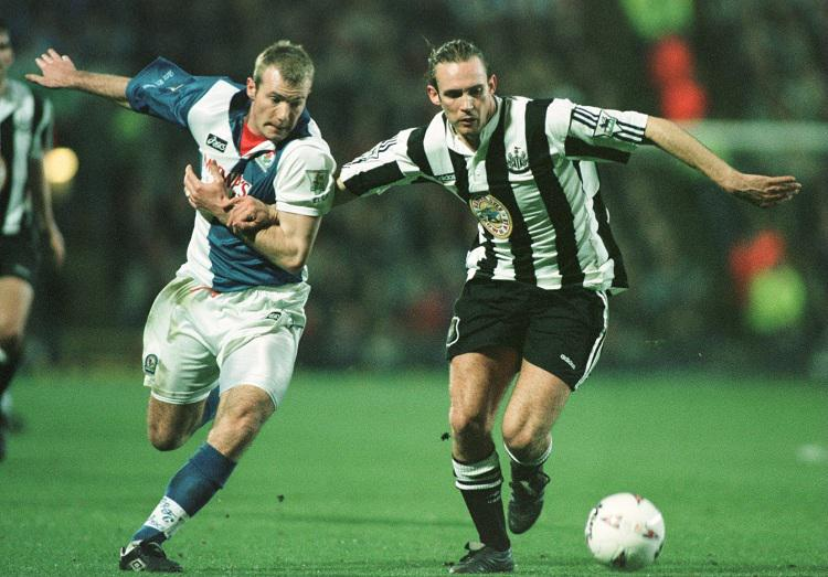 WARNING: This photo contains Shearer playing AGAINST Newcastle