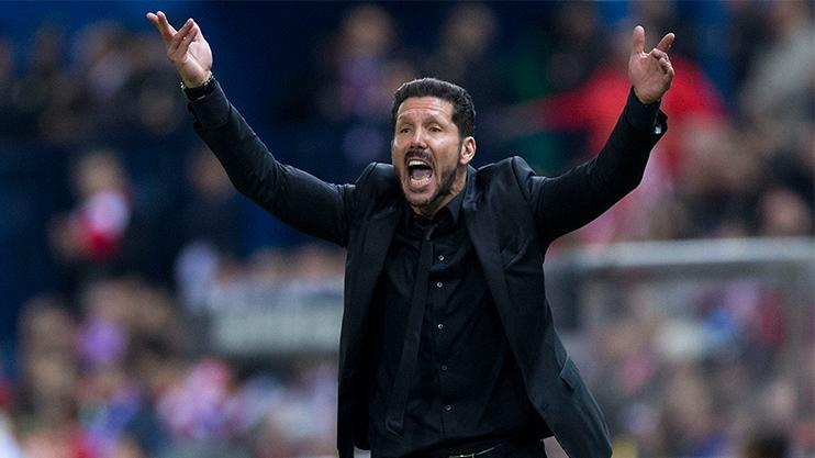 You wouldn't want to be the guy who had to tell Simeone of the news