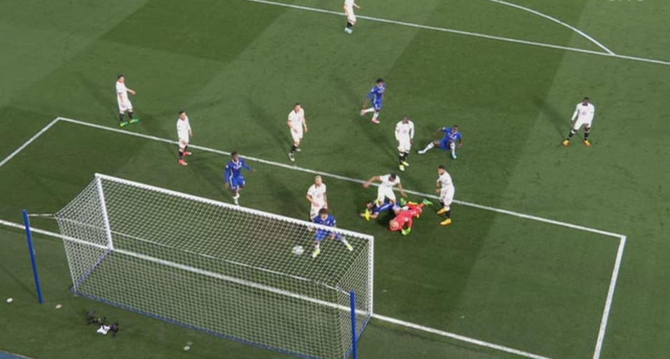 The skipper got there ahead of Heurelho Gomes and poked the ball home, via the inside on the post, with his left foot
