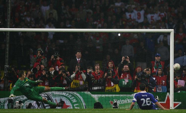 Whenever Man United, Chelsea and Champions League are mentioned you have to think of this image