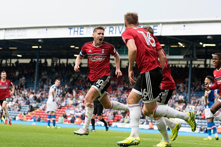Tom Cairney's 94th minute goal cost Blackburn a point against Fulham