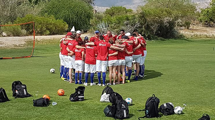 A team, united
