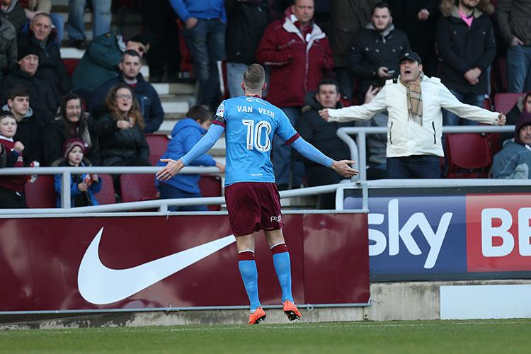 Kevin van Veen was a target for clubs in China