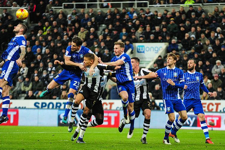 Wednesday in action against Newcastle on Boxing Day