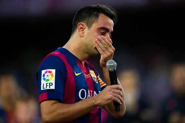 Don't cry, Xavi…