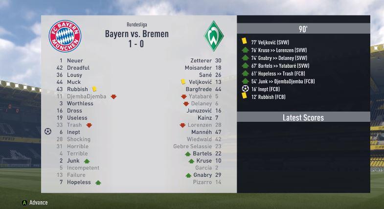 It's a dream startfor Neuer as he keeps a clean sheet against Bremen
