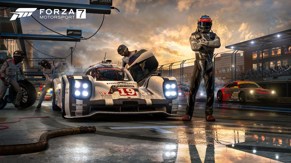 Turn 10's Forza Motorsport 7 runs at 4K resolution at 60 frames per second