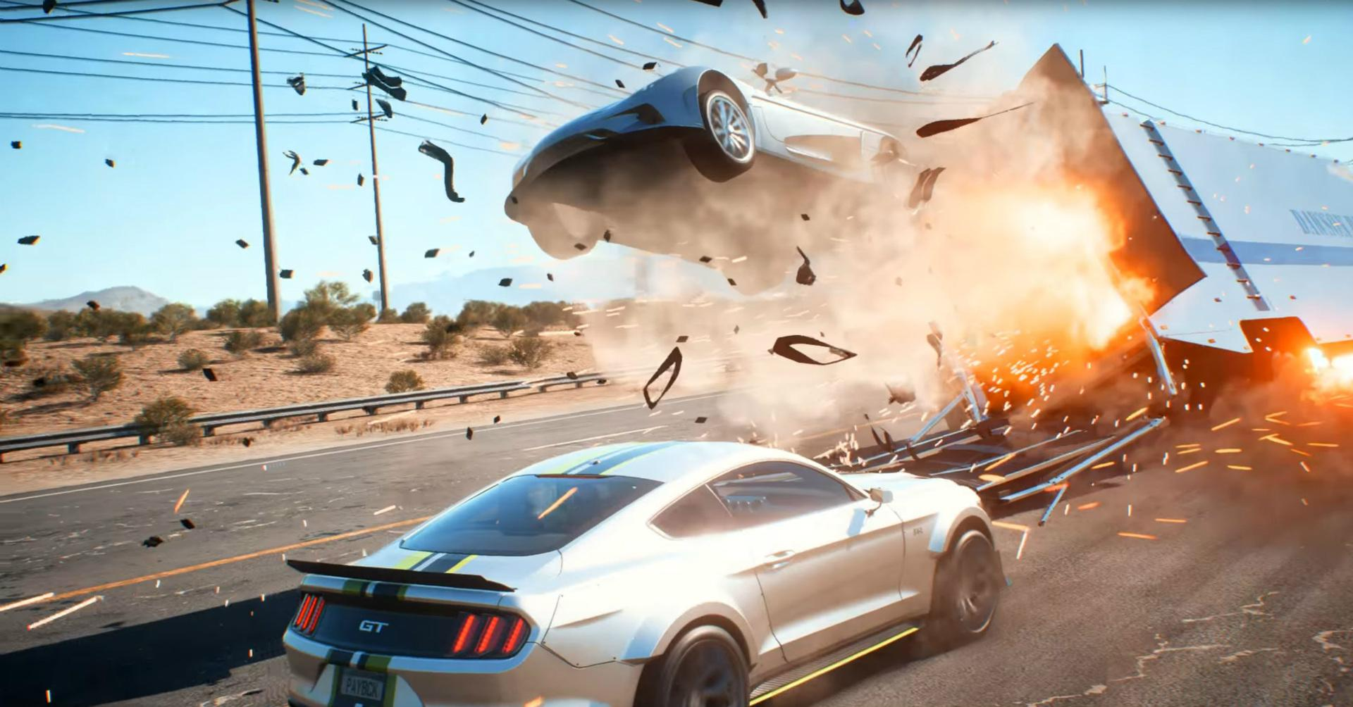 Need For Speed: Payback is powered by the Frostbite Engine - which delivers stunning visuals at 4K