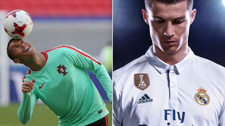 FIFA 18 cover star Cristiano Ronaldo isn't the only star with a few tricks up his sleeve