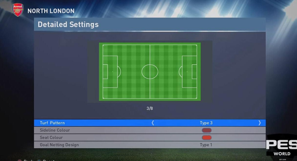The stadium editor will likely be even better in PES 2018