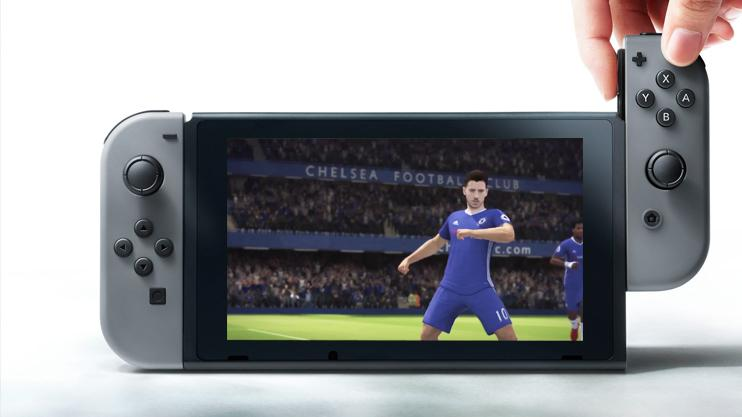 The Nintendo Switch version of FIFA will not use the Frostbite engine