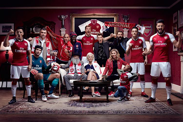 Arsenal's new kit is fun for all the family