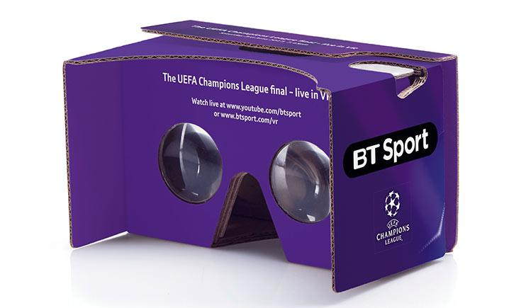 BT Sport are broadcasting the Champions League final in 360 degree VR for the first time ever