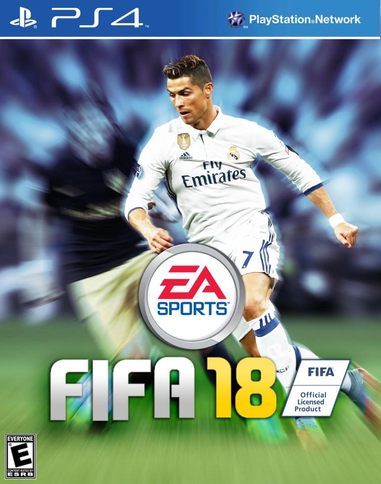 FIFA 18 Cover Star: Cristiano Ronaldo sensationally revealed as the new face of FIFA 18