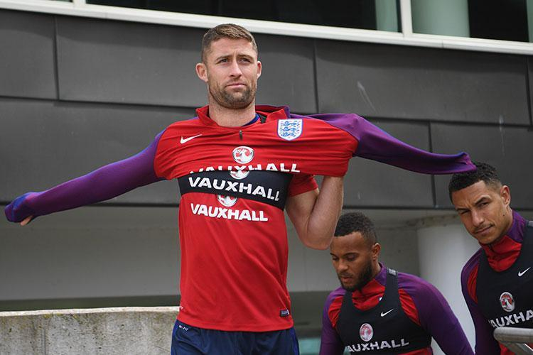 Gary Cahill and Ryan Bertrand make our England line-up