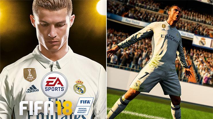 Ronaldo sprint speed fifa 2018 knuckle ball achievement fifa 2018