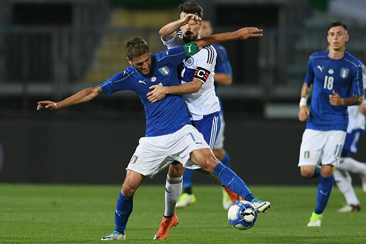 Berardi has already had a crack at captaining the senior side