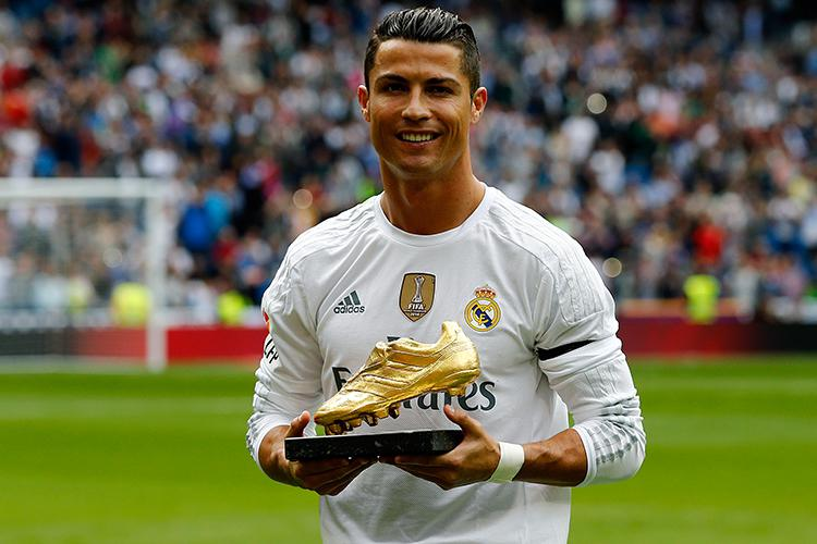 Ronaldo collects Golden Boots like we collect rare stamps