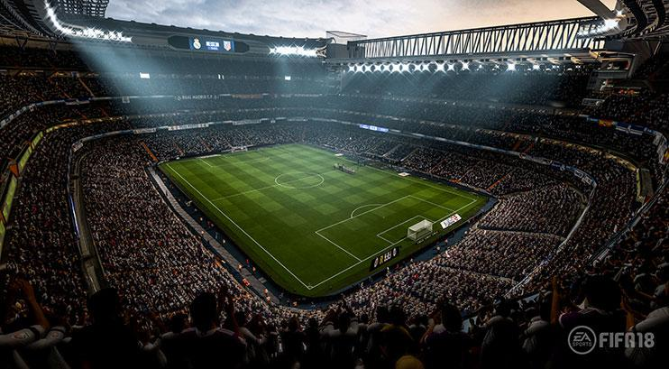 Stadiums have been completely re-worked this year to allow for more realism