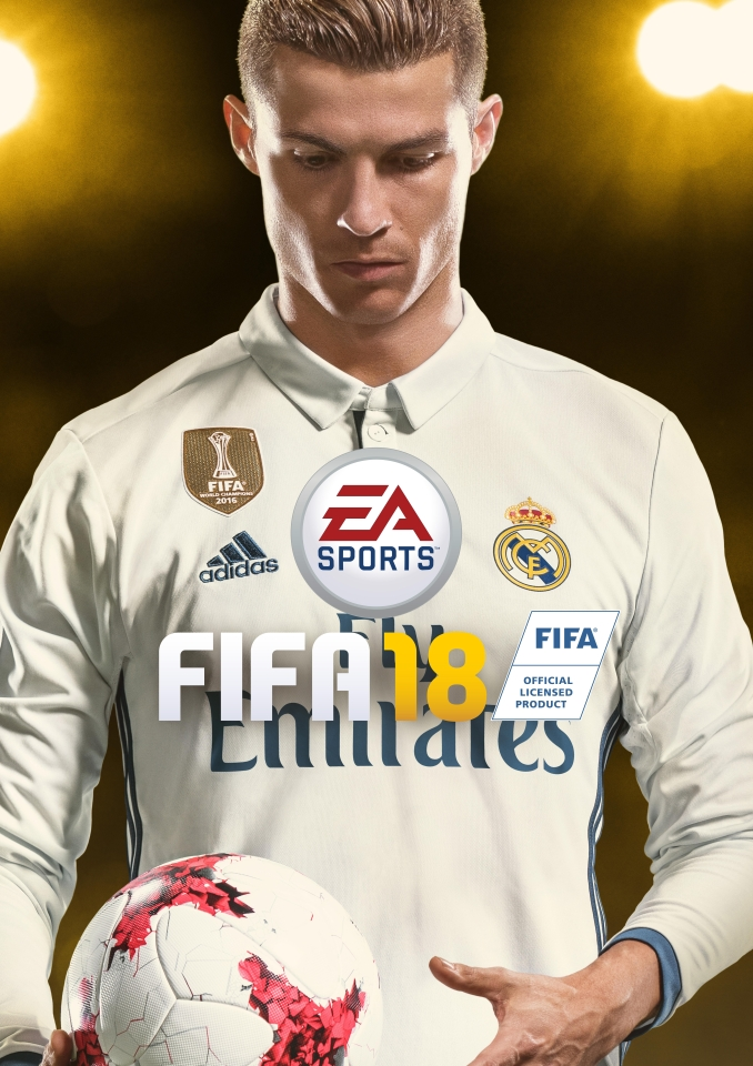 Ronaldo is the new face of FIFA 18 – despite claims that Paul Pogba was in contention
