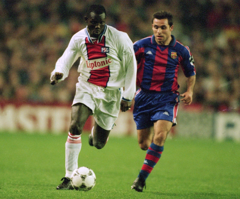 Image result for young george weah