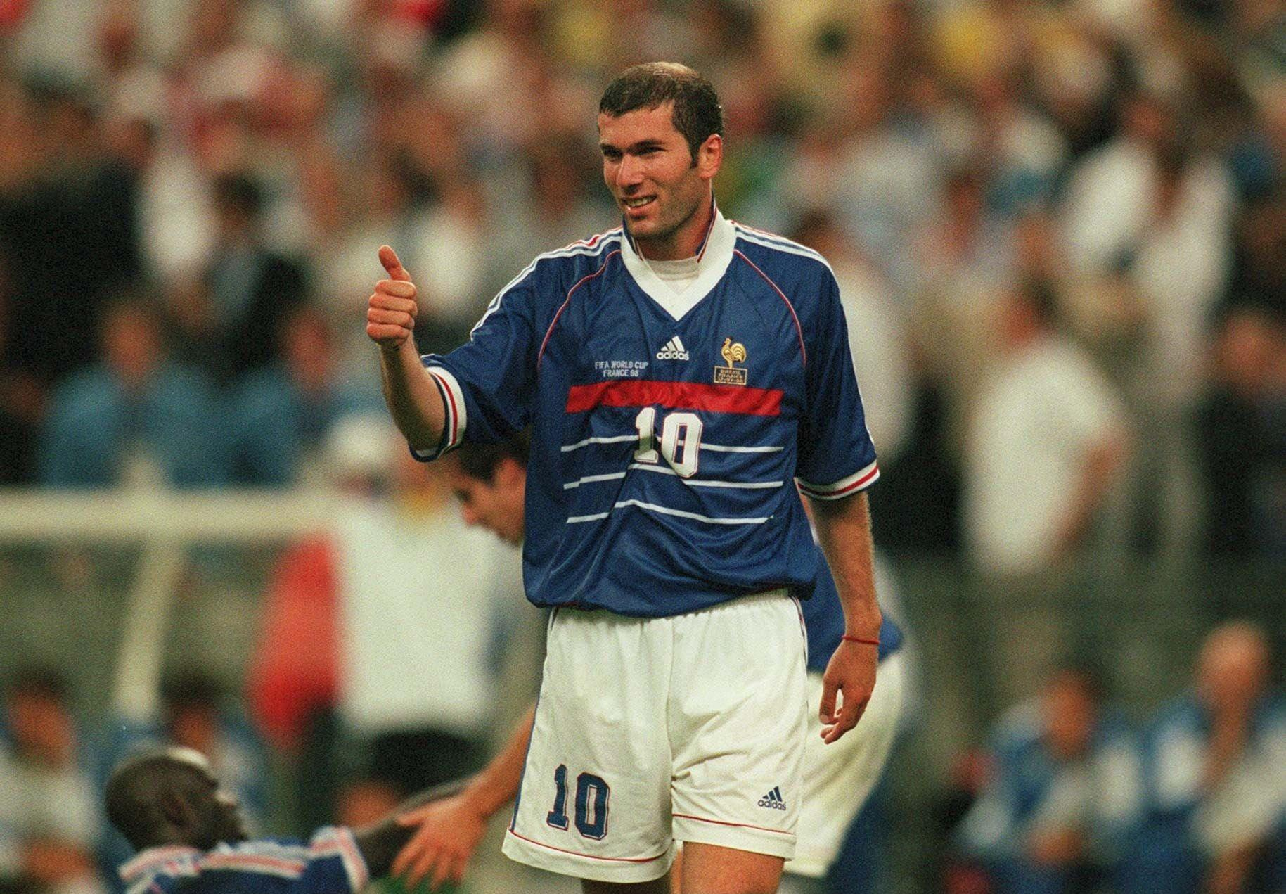 1998 will always be remembered as 'The Zidane final'
