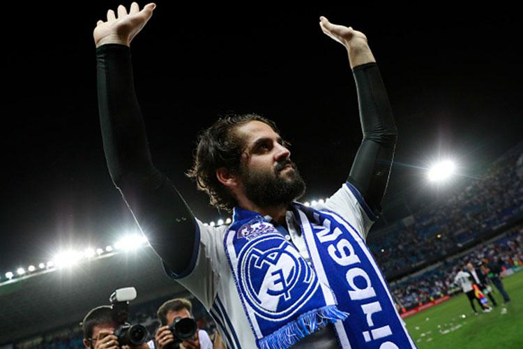 Isco will start behind the forward two in the Champions League final
