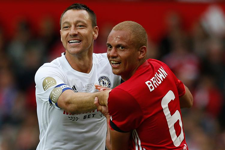 You see John Terry and Wes Brown, Redknapp sees the best defence in the Championship