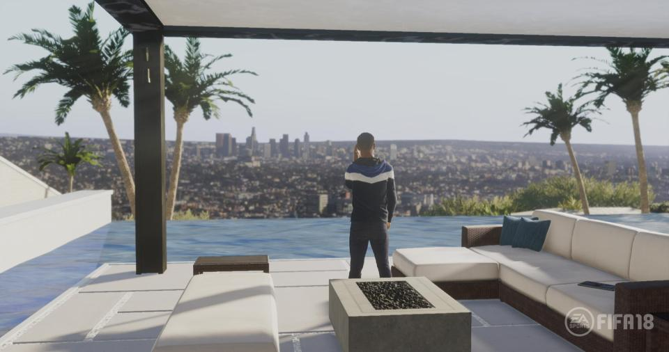 FIFA 18's The Journey will see Alex Hunter travel around the world however it will not feature in PS3, Switch or Xbox 360 versions of the game