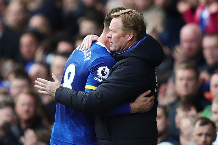 Ross Barkley had a place in Koeman's Football Manager side