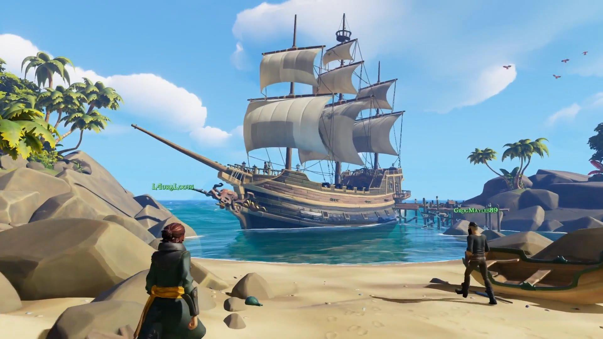 Sea of Thieves has been in production for some time – but fans will need to wait a bit longer to get their hands on it